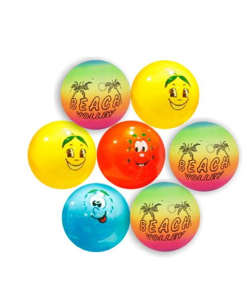 """Μπάλα πλαστική """"χαμόγελο"""""""