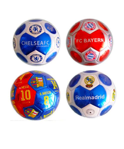 Μπάλες Δερμάτινες Ποδοσφαίρου με σήματα ομάδων